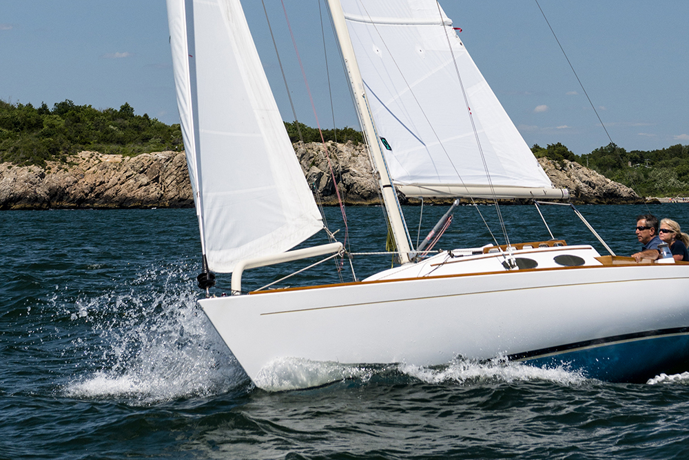 toerzeil grootzeil en fok quantum sails