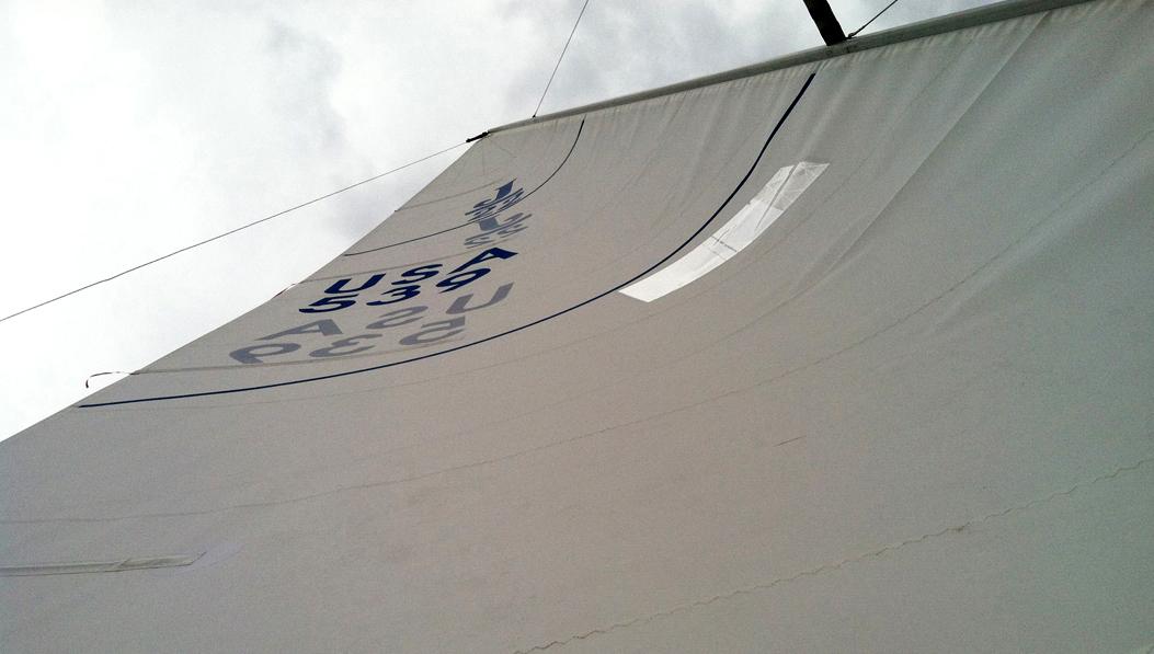 j/22 grootzeil Quantum Sails