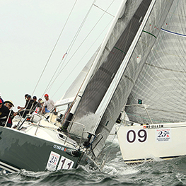 zwarweer fok heavy j/109 qunatum sails