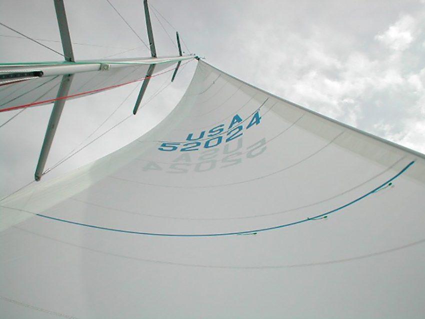crosscut wedstrijdgenua of wedstrijdfok quantum sails