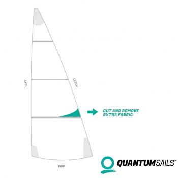 recut achterlijk zeil quantum sails